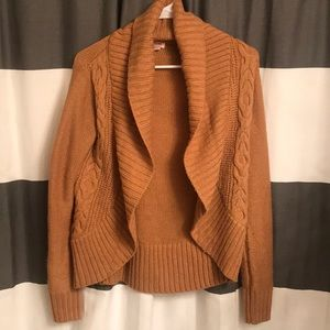 Camel colored sweater